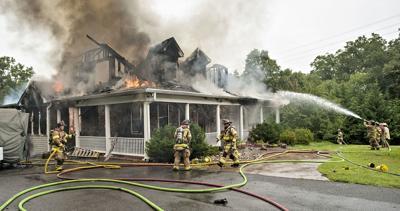 Warren County battles 3 house fires in 3 days