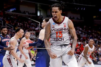 NCAA Liberty Virginia Tech Basketball