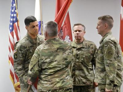 Army Corps of Engineers holds change of command ceremony