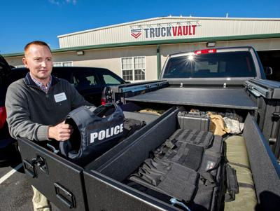 TruckVault brings jobs to county: New company holds open house at Mount Jackson plant