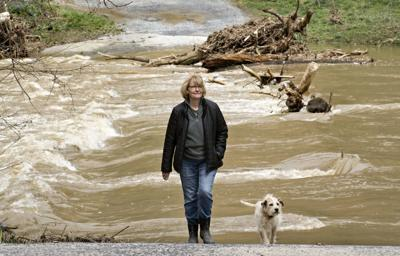 Trapped by floodwaters: Black Bear Crossing residents continue fight for better bridge