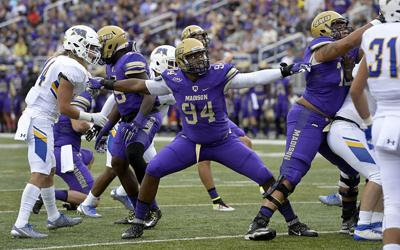 JMU's Urquhart following in father's footsteps