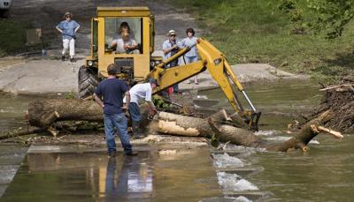 Shenandoah River flooding, forcing alerts and road closures