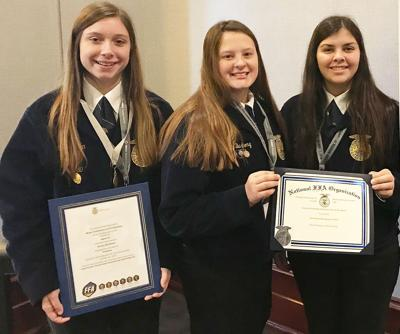 CHS 2019 National FFA meat evaluation team