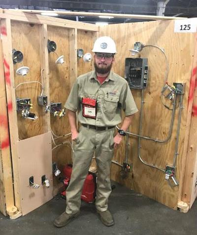 Recent Triplett Tech graduate places in national competition