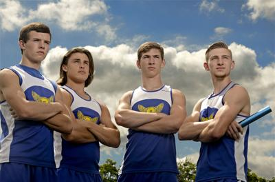 2017 Boys Track and Field Athletes of the Year: Central's 4×400 relay team has special season