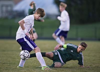 Young Hawks show signs of progress in boys soccer win over Strasburg