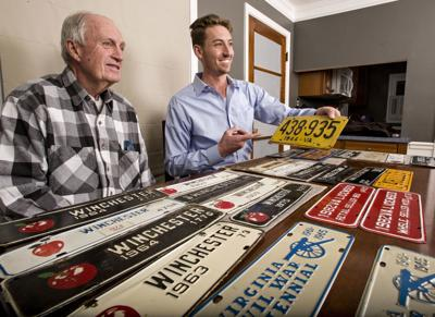 A passion for plates: Middletown's mayor is on the hunt for local tags