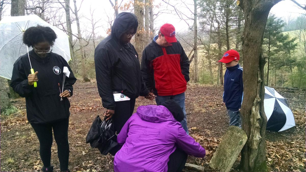 A place of lost history and identity: Team locates graves in abandoned African-American cemetery