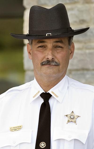Sheriff McEathron announces retirement plans