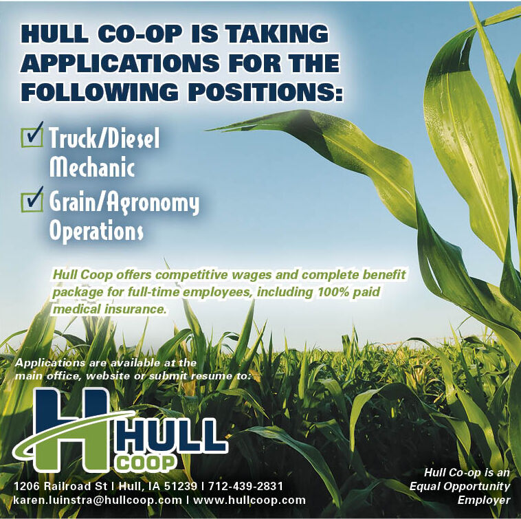 Positions at Hull Coop