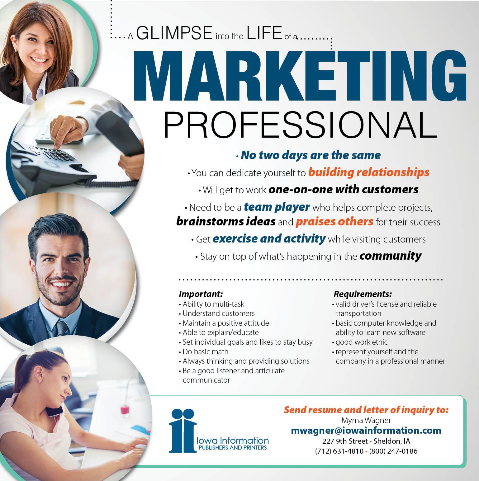 Marketing Professional at Iowa Information
