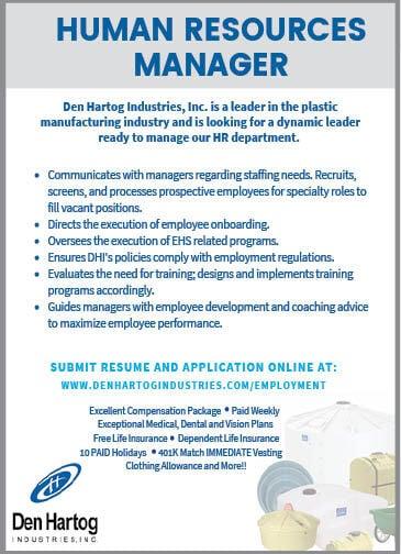 HR Manager at Den Hartog Industries