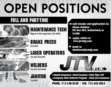 Positions at JTV