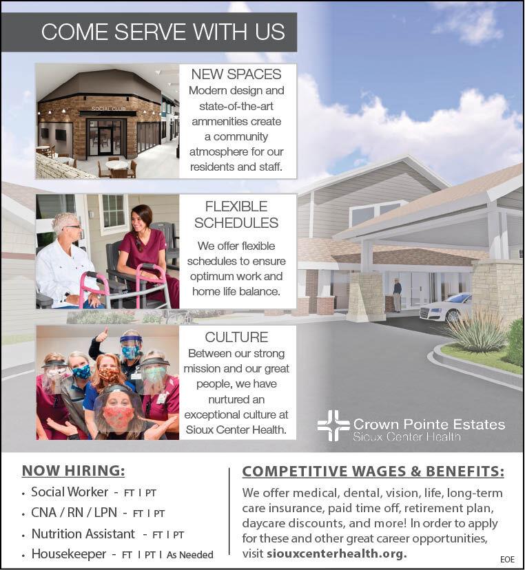 Crown Pointe Estates at Sioux Center Health