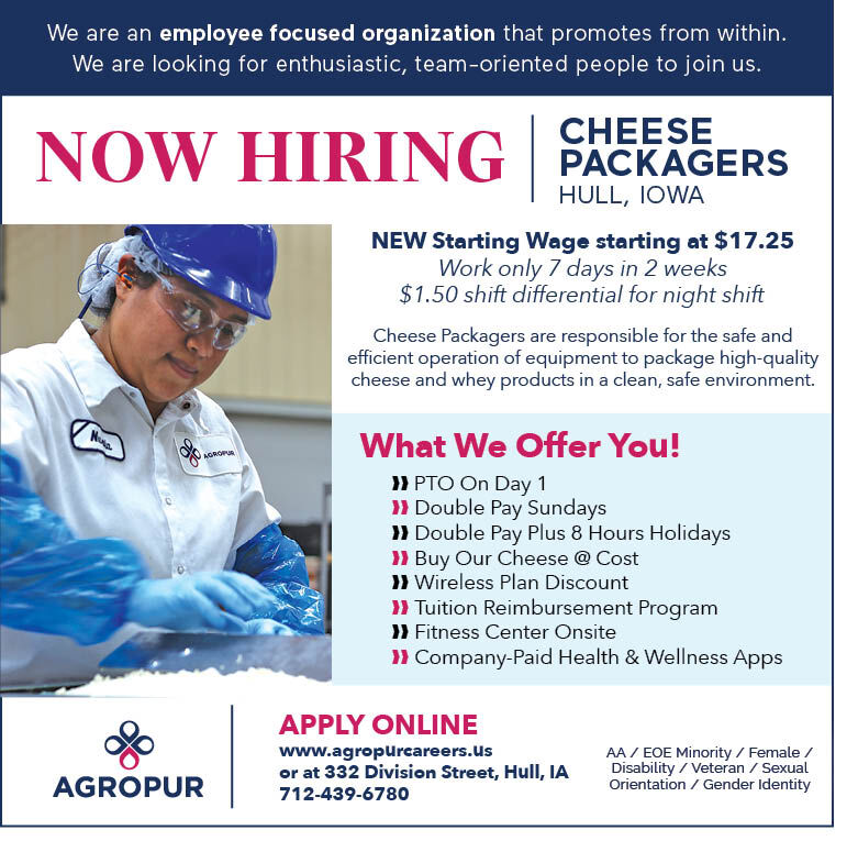 Cheese Packagers at Agropur