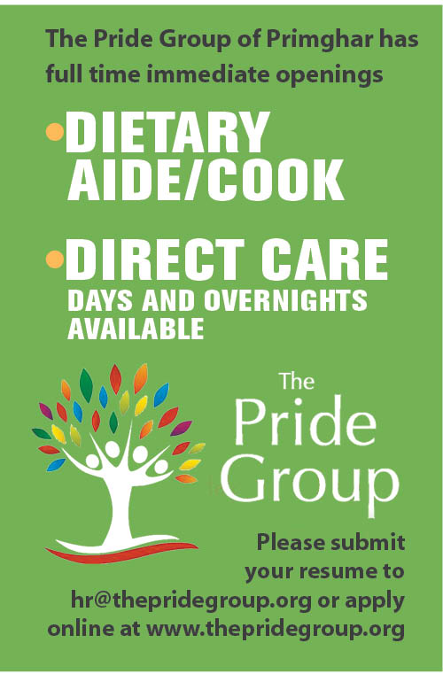 Positions at The Pride Group