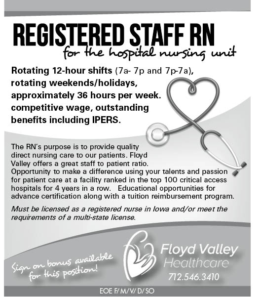 RN at Floyd Valley Healthcare