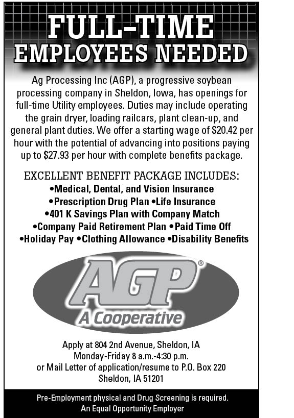 Positions at AGP