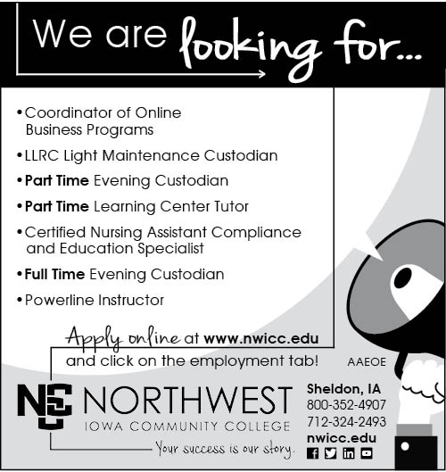 Positions at NCC