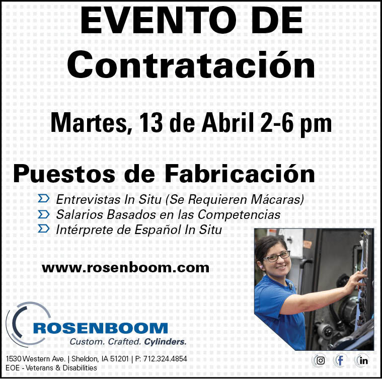 Evento de Contratación at Rosenboom