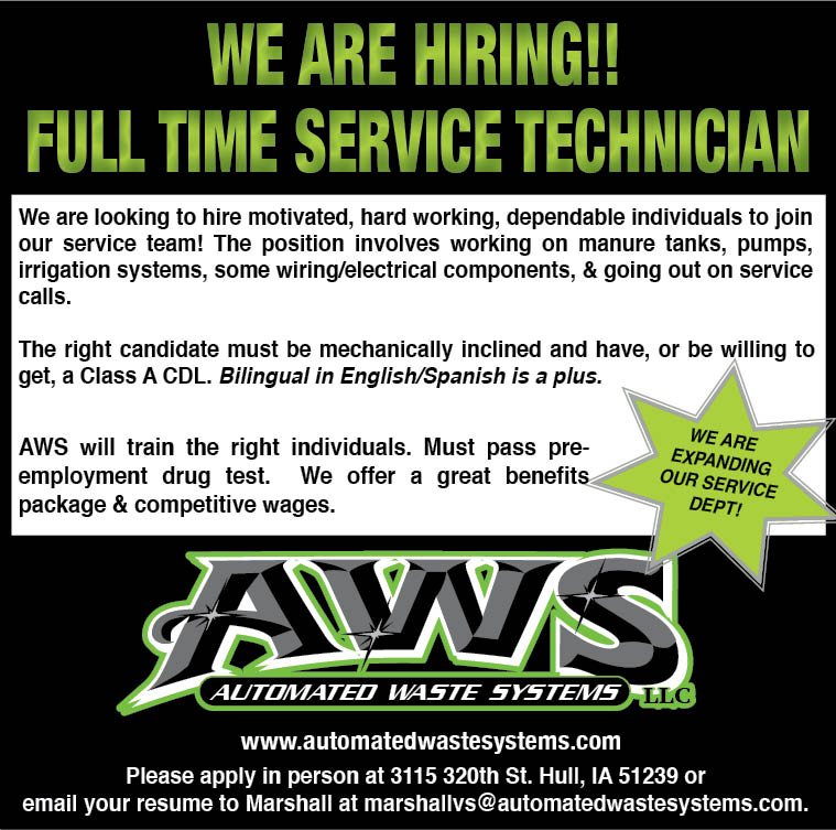 FT Service Tech at Automated Waste Systems