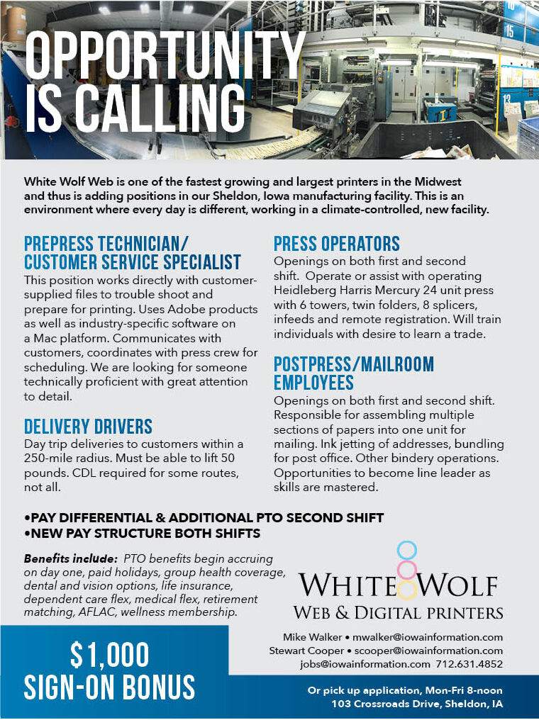 Help Wanted at White Wolf Web