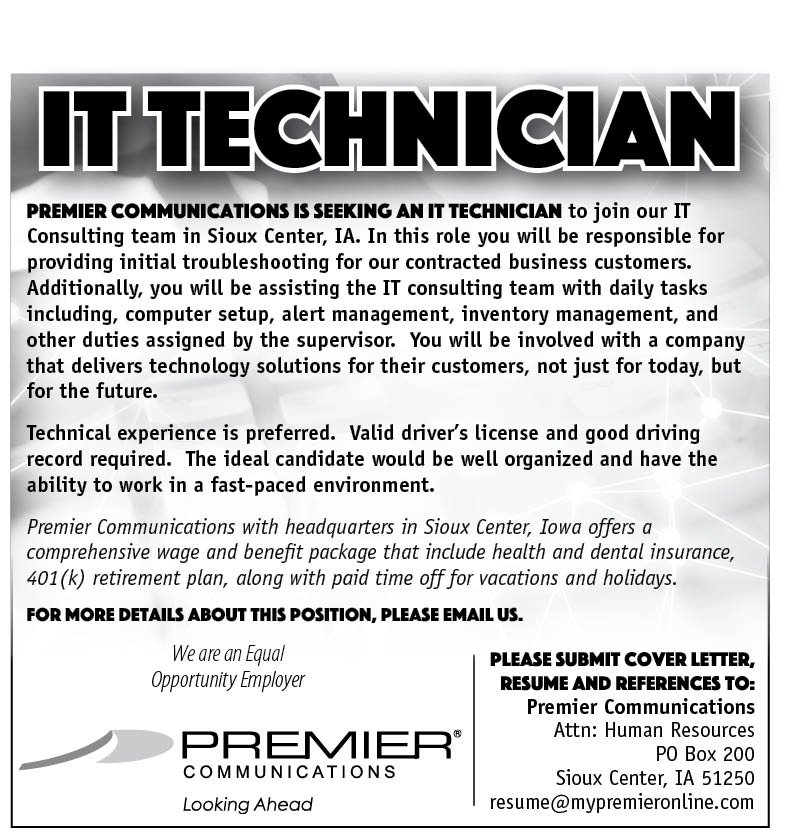 IT Technician at Premier Communications