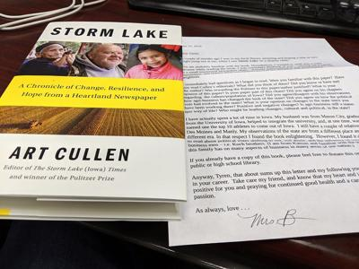 Ty's copy of 'Storm Lake'