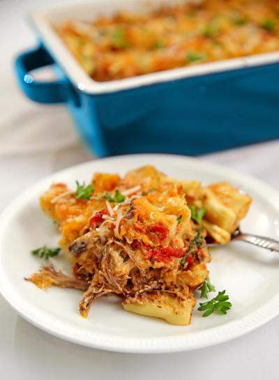 Beef and Cheese Rigatoni