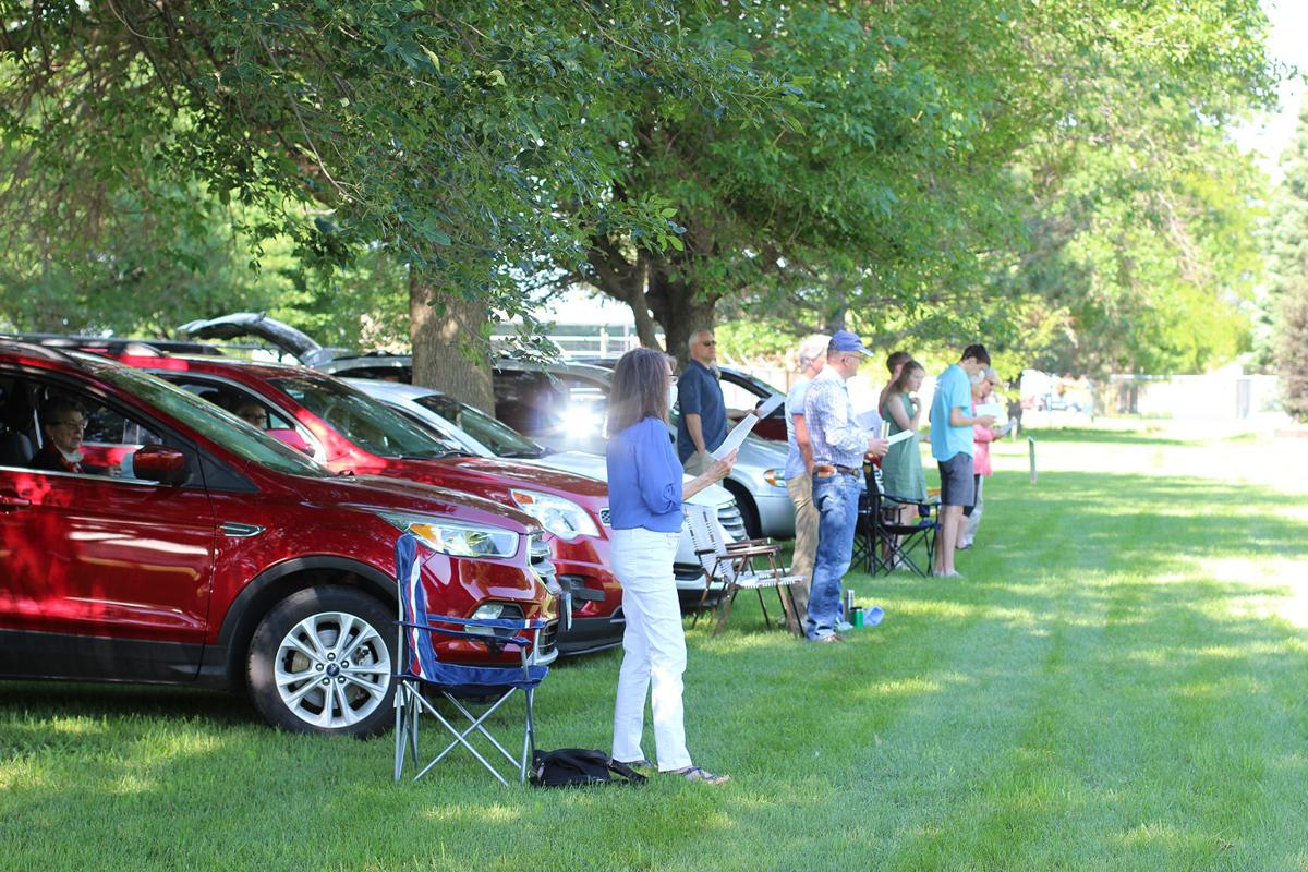 Covenant CRC bring cars to worship
