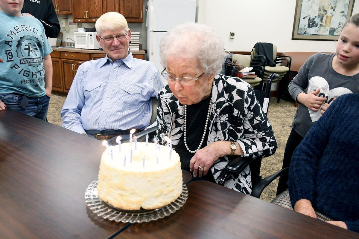 Happy 104th birthday Goldie Colenbrander