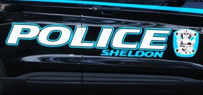 Sheldon Police Department vehicle
