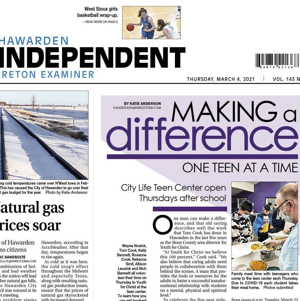 Hawarden Independent/Ireton Examiner Mar. 4, 2021