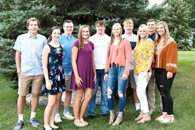 2019 homecoming court Sioux Center