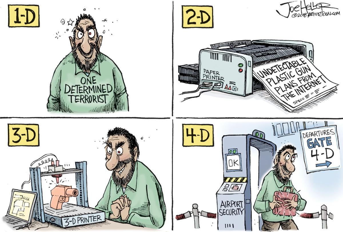 Blueprint for 3d handguns sticky issue news nwestiowa 3d printed guns malvernweather Images