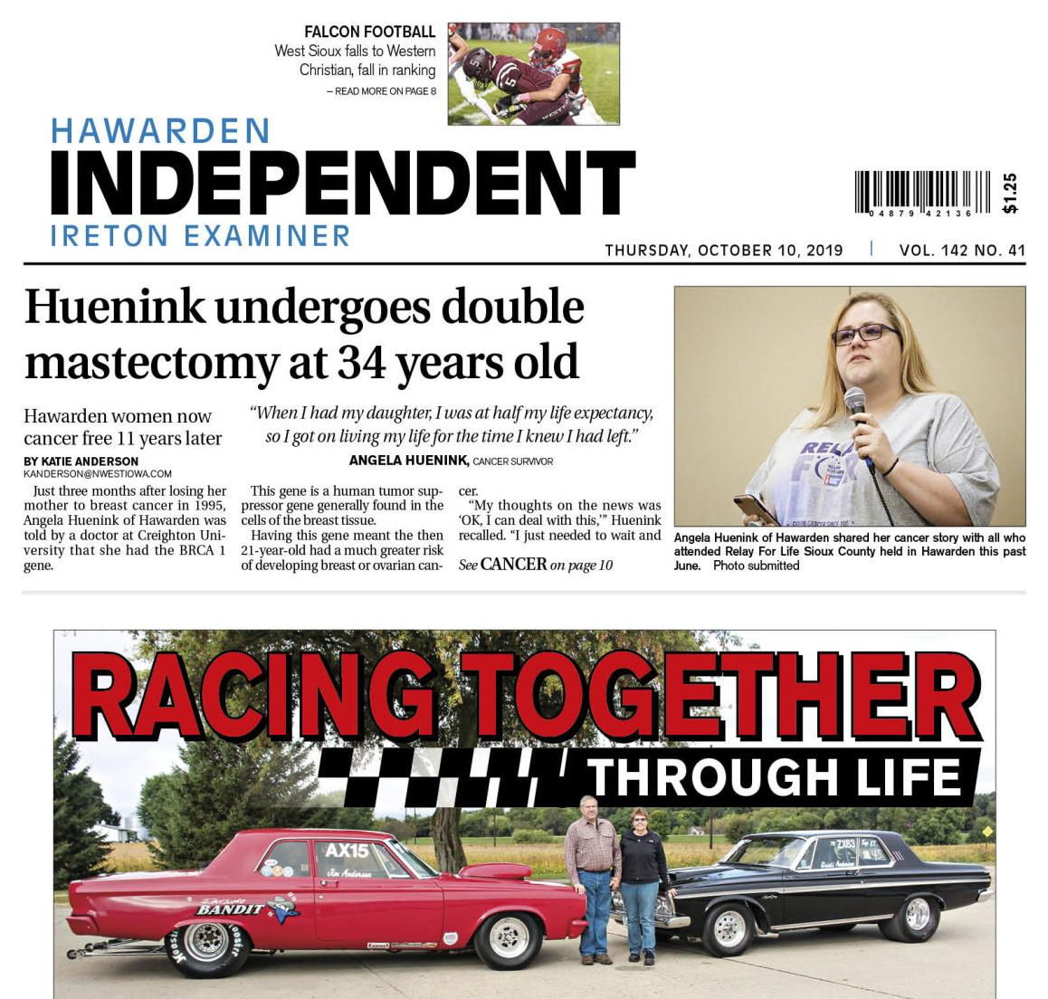 Hawarden Independent/Ireton Examiner Oct. 10, 2019