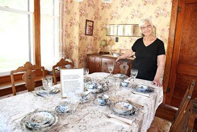 Kuhl House dinner table