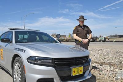Iowa State Patrol trooper Nick Erdmann
