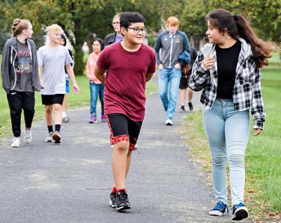 Boyden-Hull health walk 1