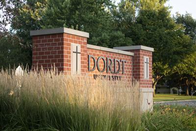 Dordt University entrance sign