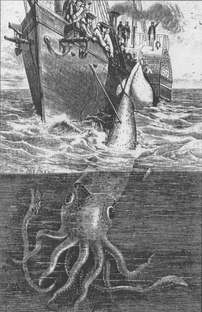 Giant squid for Take 5