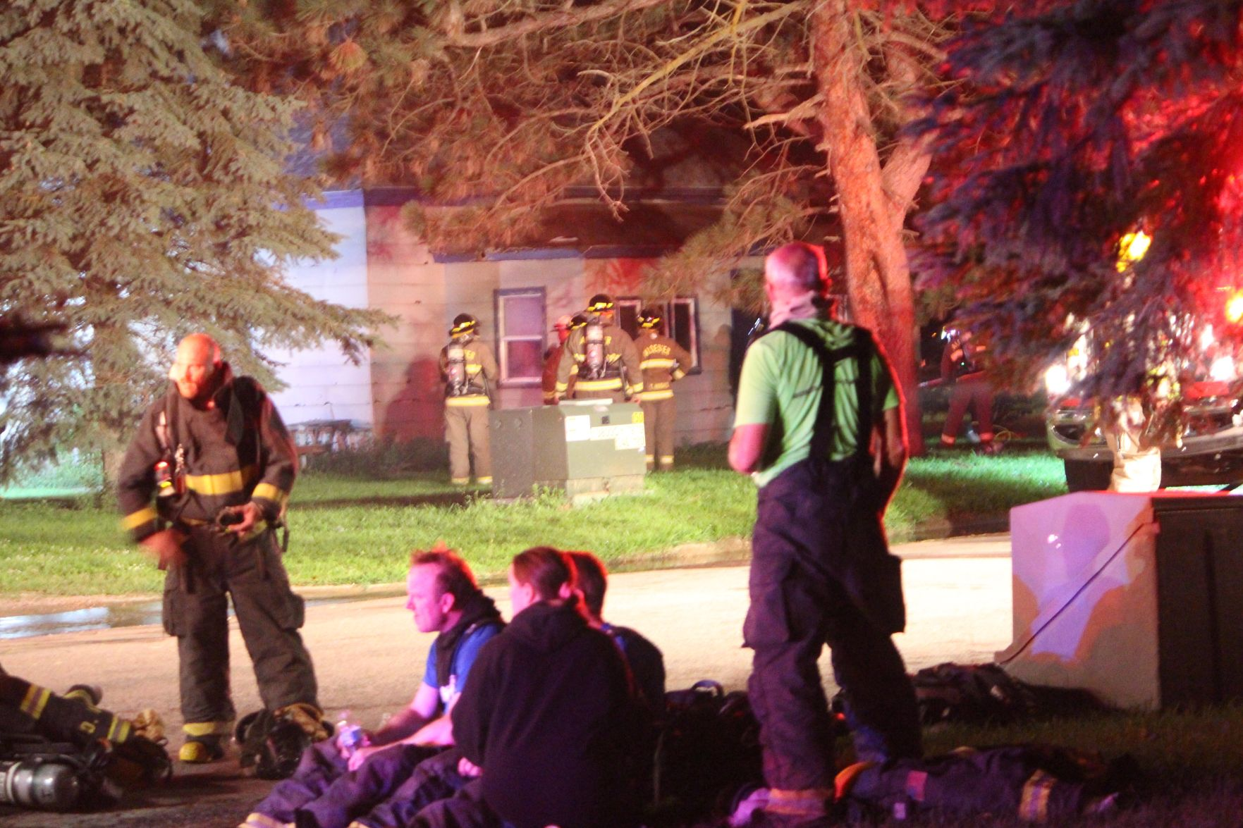 Four departments called to house fire