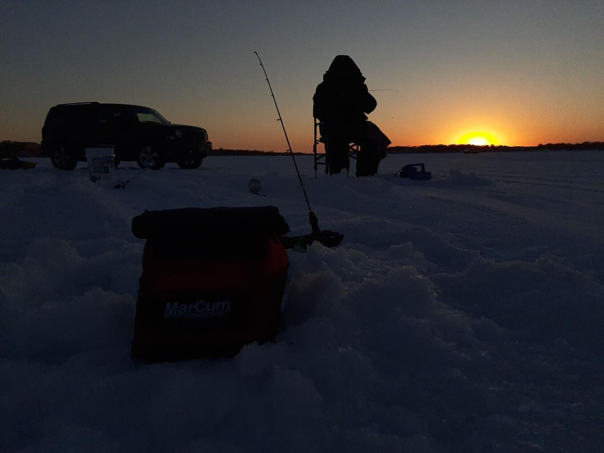Take 5: Sunset on the Ice