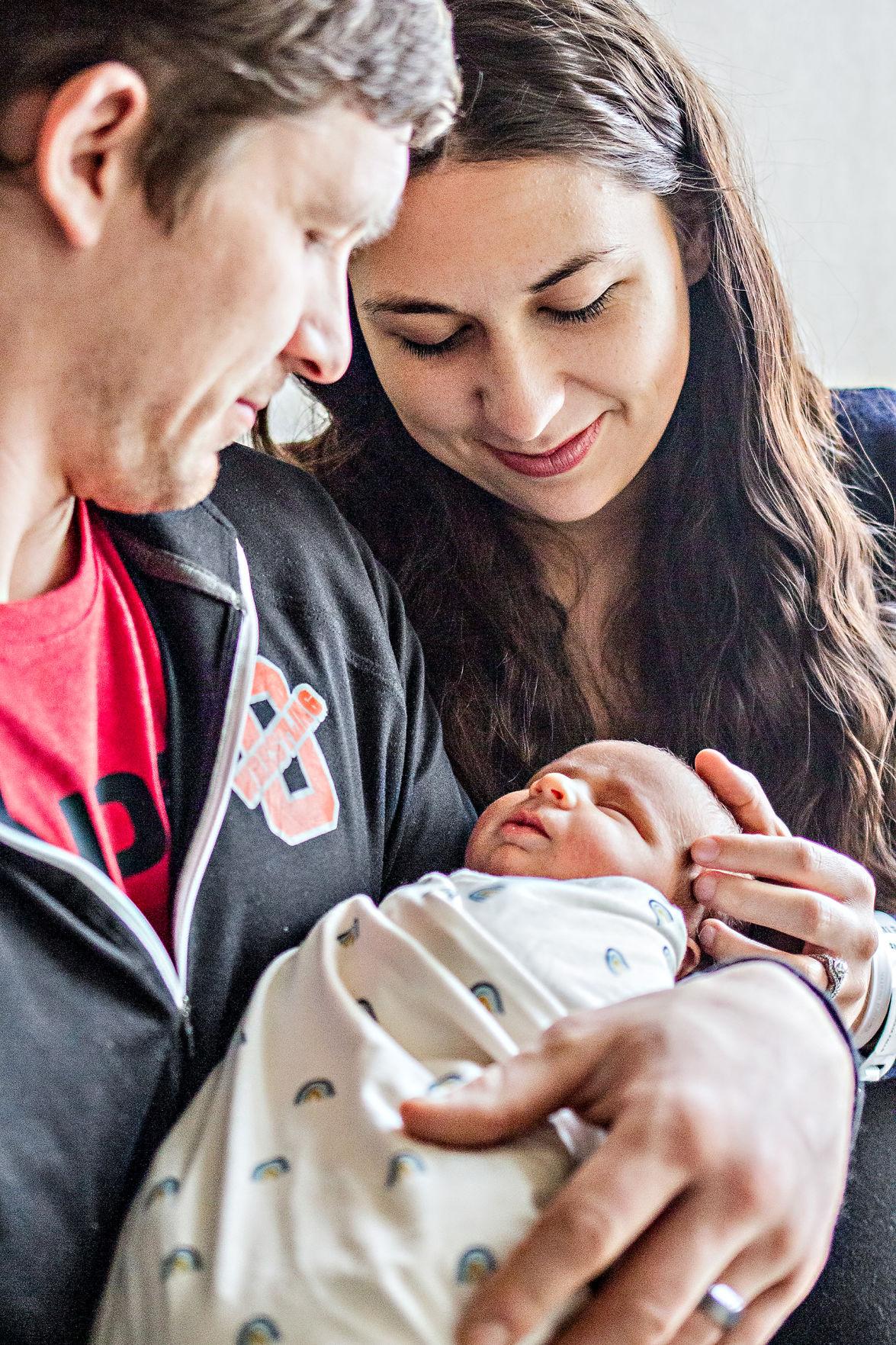 Sheldon couple welcome rainbow baby