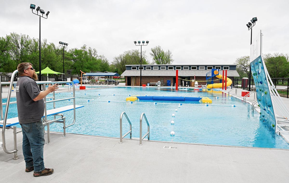 Sibley Outdoor Aquatic Center opens June 8