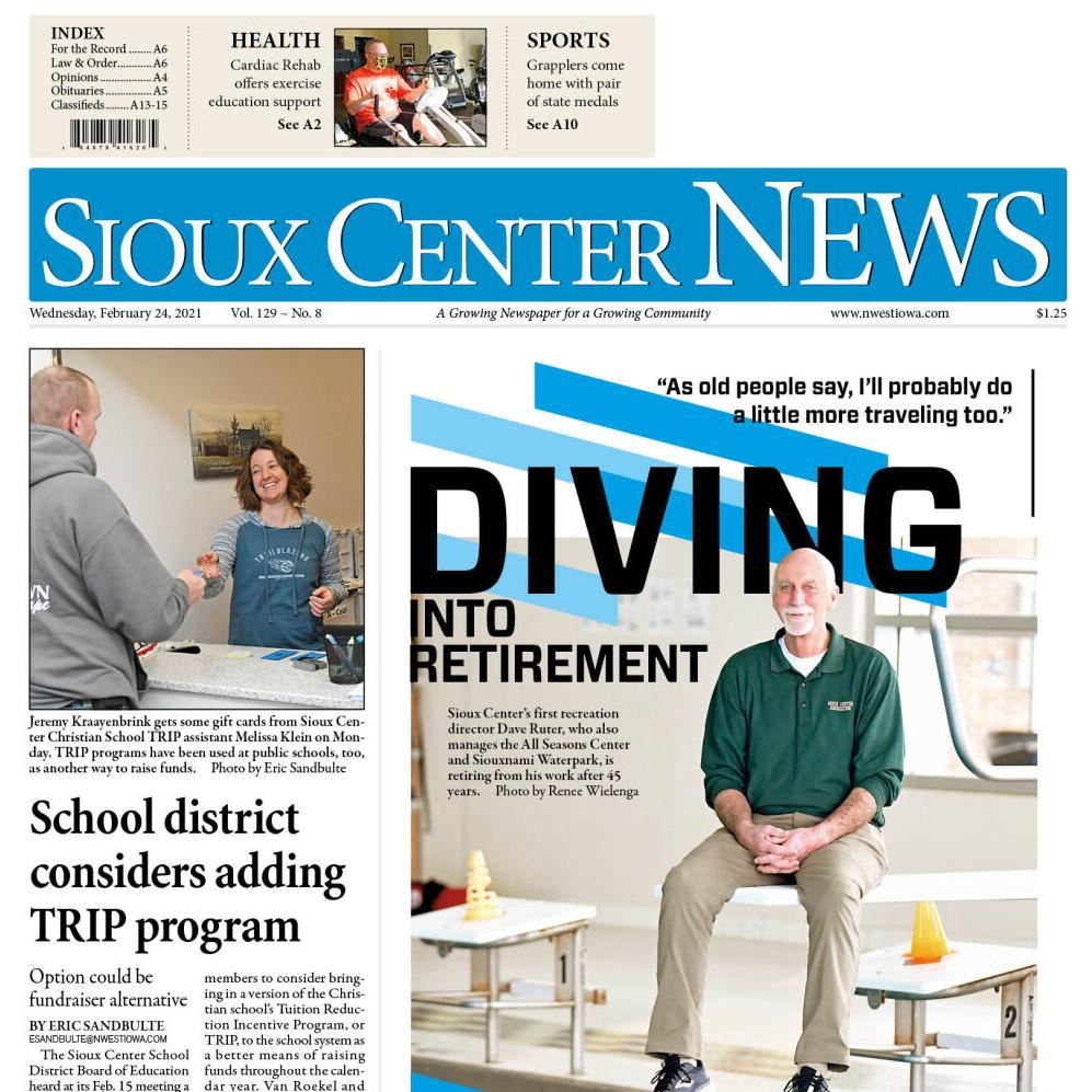 Sioux Center News Feb. 24, 2021