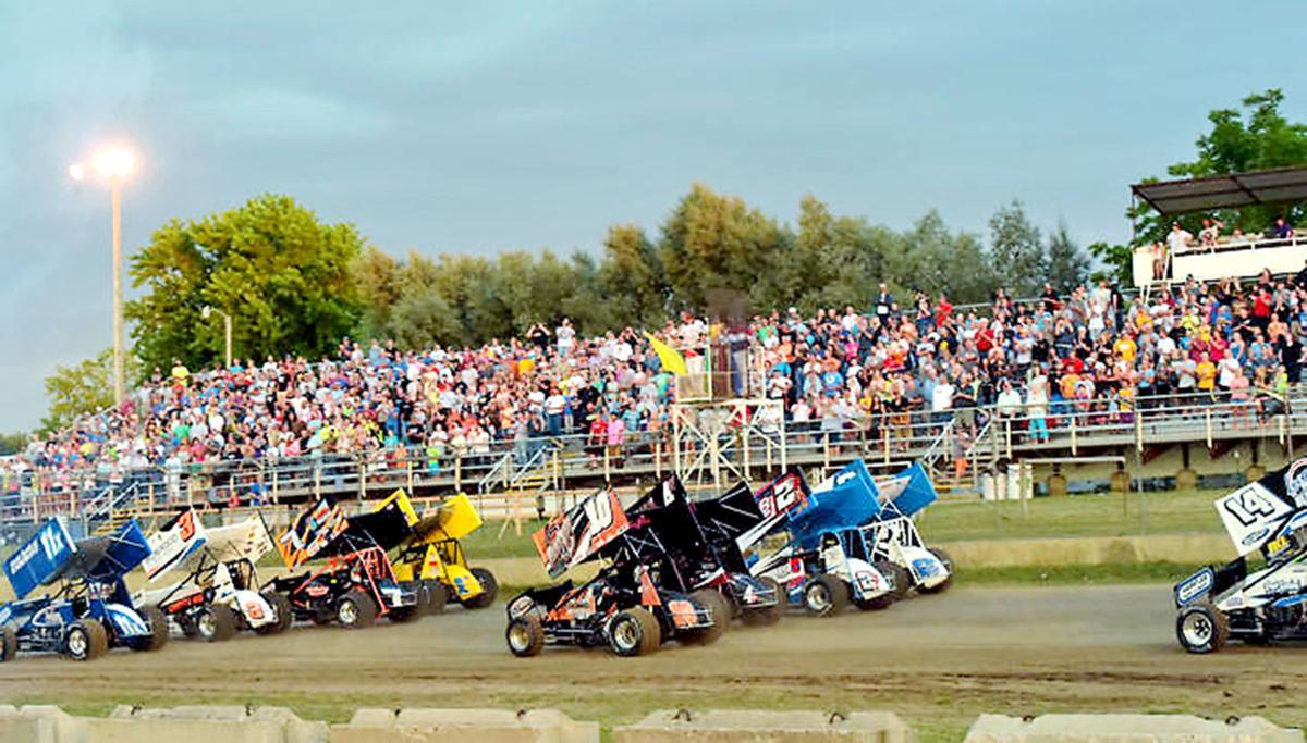 A race at the fair