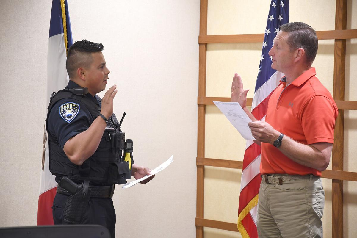 Martinez sworn in
