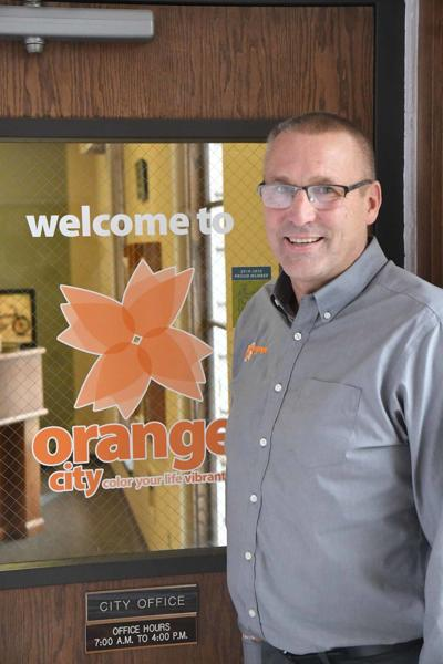 Orange City administrator Earl Woudstra